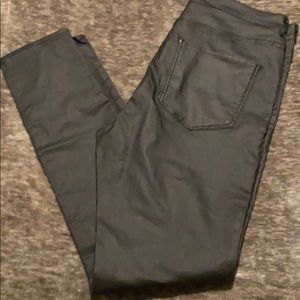 NWOT, H&M Brand, Black Pleather Pants, Never Worn